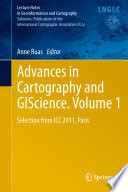 Advances in Cartography and GIScience  Volume 1