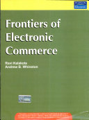 Frontiers Of Electronic Commerce book