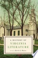 A History of Virginia Literature
