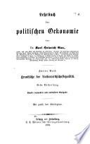 Lehrbuch der politischen Oekonomie
