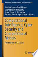 Computational Intelligence Cyber Security And Computational Models
