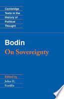 Bodin  On Sovereignty