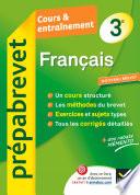 Fran  ais 3e   Pr  pabrevet Cours   entra  nement