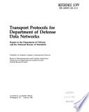 Transport Protocols for Department of Defense Data Networks