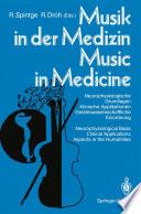 Musik in der Medizin   Music in Medicine