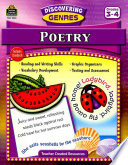 Poetry, Grades 3-4 : vocabulary, learn reading strategies, practice...