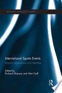 International Sports Events