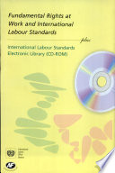 Fundamental Rights At Work And International Labour Standards Plus International Labour Standards Electronic Library Cd Rom