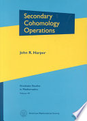 Secondary Cohomology Operations For Singular Cohomology Theory The Author Develops