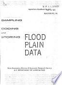 Sampling Coding And Storing Flood Plain Data