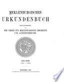 Mecklenburgisches Urkundenbuch