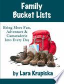 Family Bucket Lists