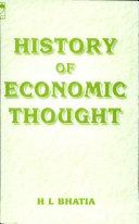 History Of Economic Thought 4e