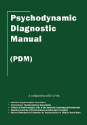 Psychodynamic Diagnostic Manual  PDM