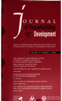 Journal of Peacebuilding and Development
