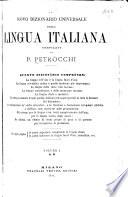 N  vo dizion  rio universale della lingua italiana