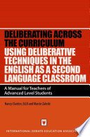 Using Deliberative Techniques in the English as a Foreign Language Classroom