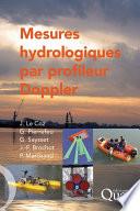 Mesures hydrologiques par profileur Doppler  aDcp