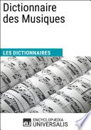 Dictionnaire des Musiques