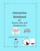 Interactive Notebook For Drums Girls And Dangerous Pie book