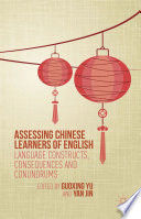 Assessing Chinese Learners of English