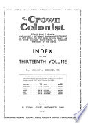 The Crown Colonist Book PDF