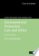 Environmental Protection  Law and Policy