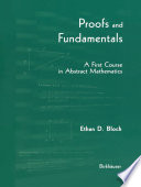 Proofs and Fundamentals