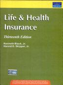 Life And Health Insurance  13 E