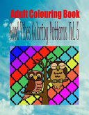 Adult Colouring Book Good Vibes Colouring Patterns