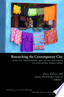 Researching the contemporary city