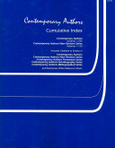 Contemporary Authors Volumes 1 245 And Contemporary Authors New