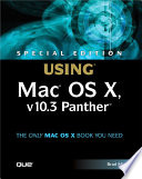Special Edition Using Mac OS X  V10 3 Panther