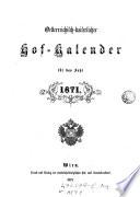 Österreichisch-kaiserlicher Hofkalender