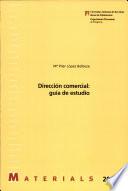 Dirección comercial : guía de estudio