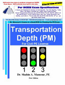 Transportation Depth  PM  for Civil PE License