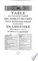 Histoire de Provence, par messire Jean-François de Gaufridi... Tome premier [-Tome second]