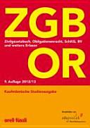 ZGB, OR, SchKG, BV und andere Erlasse