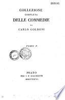 Collezione completa delle Comedie di Carlo Goldoni