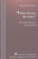 I Have Found My Voice