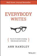 download ebook everybody writes pdf epub
