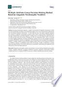 Multiple Attribute Group Decision Making Method Based On Linguistic Neutrosophic Numbers