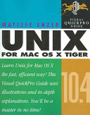 Unix for Mac OS X 10.4 Tiger