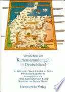 Verzeichnis der Kartensammlungen in Deutschland