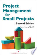 Project Management for Small Projects  Second Edition