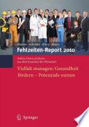 Fehlzeiten Report 2010