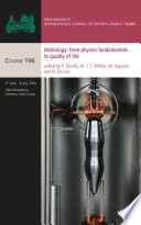 Metrology  from Physics Fundamentals to Quality of Life