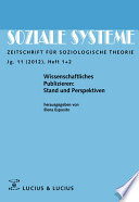 Wissenschaftliches Publizieren: Stand und Perspektiven