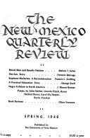 New Mexico Quarterly