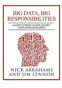 Big Data  Big Responsibilities